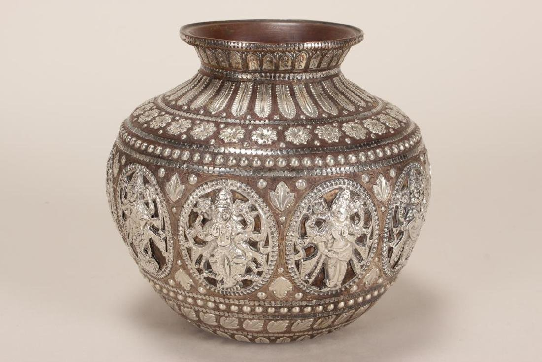 Fine and Stunning Indian Puja Vase,