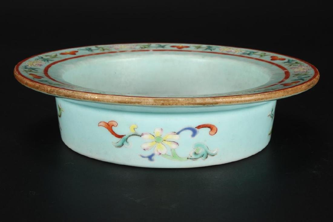 Chinese Late Qing Dynasty Porcelain Bowl, - 2