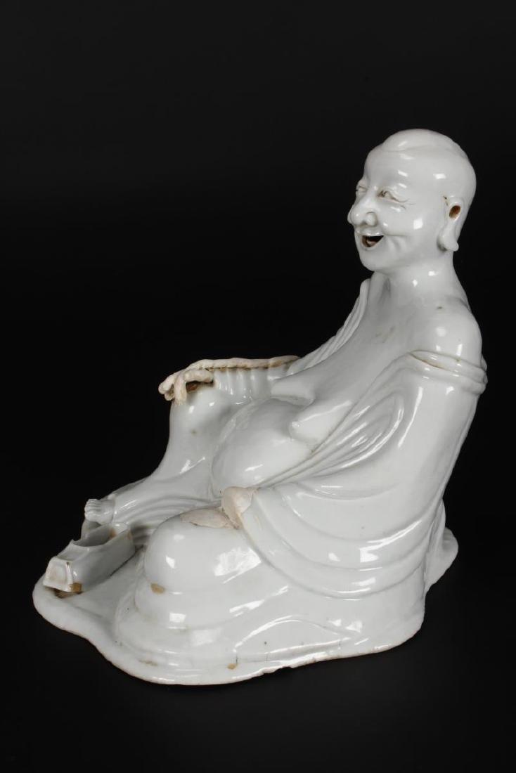 Chinese Qing Dynasty, Kang Hsi Blanc De Chine - 2