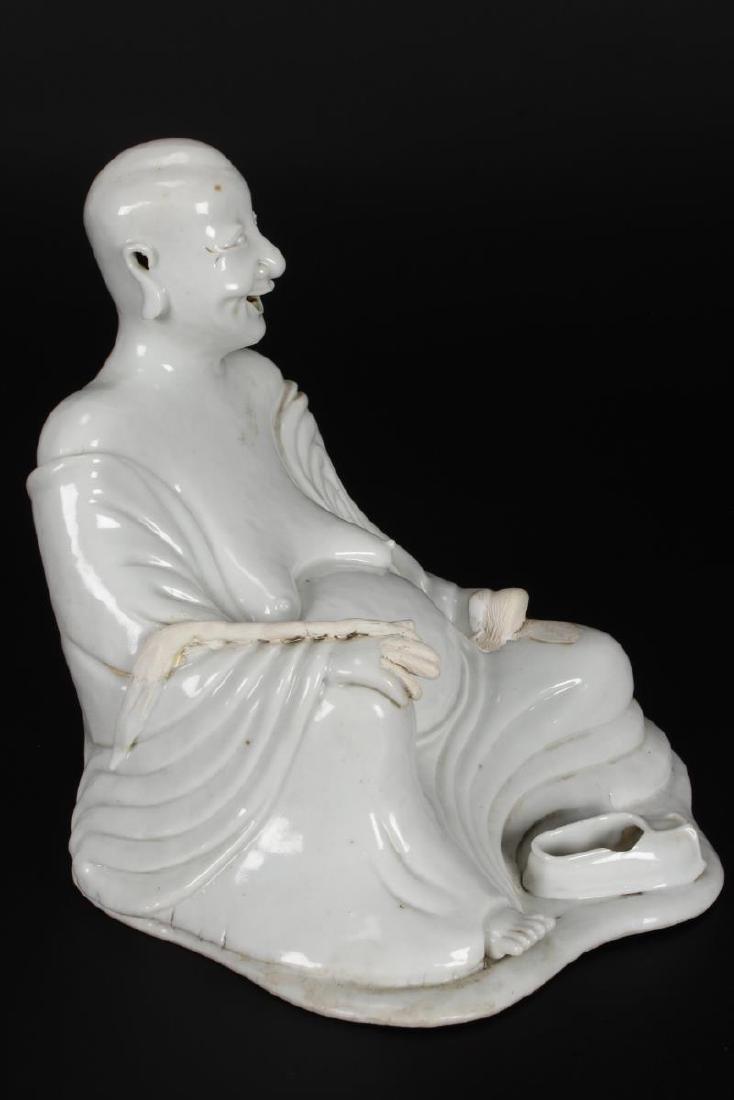 Chinese Qing Dynasty, Kang Hsi Blanc De Chine - 4