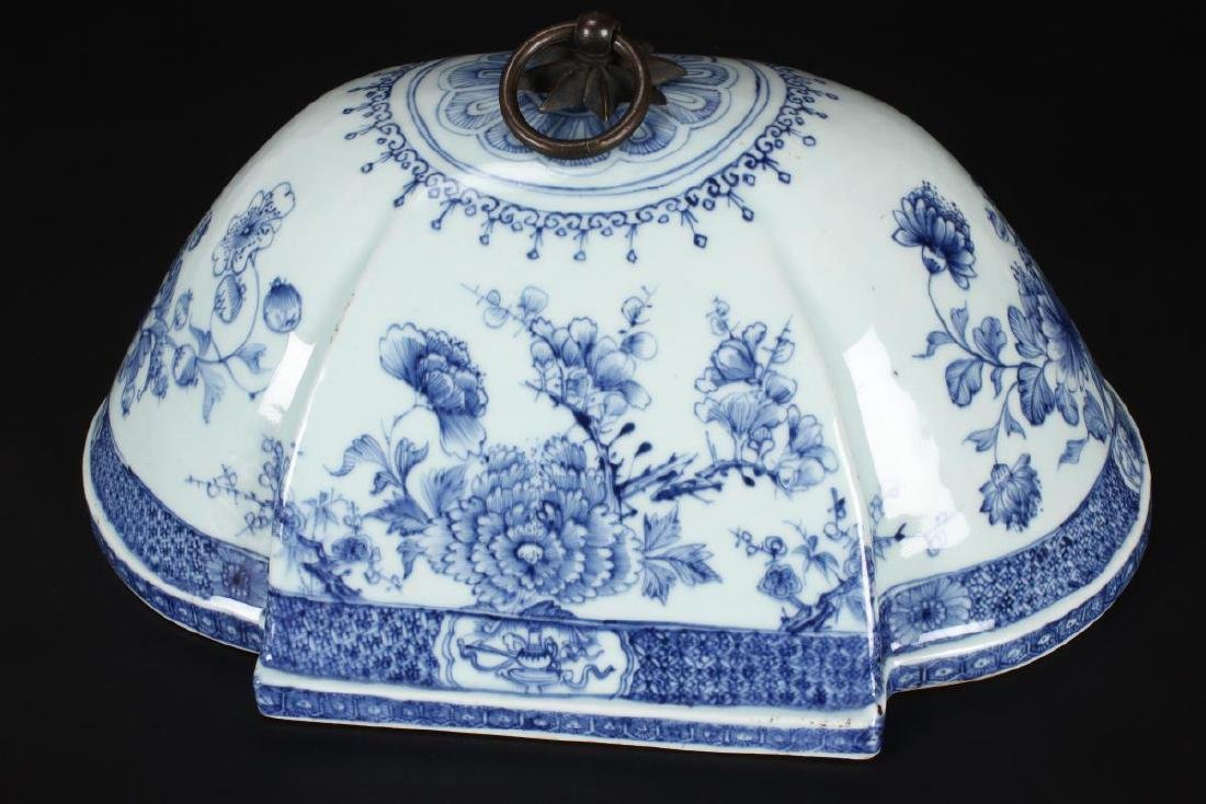 Lovely Chinese Qing Dynasty, 18th Century Blue and