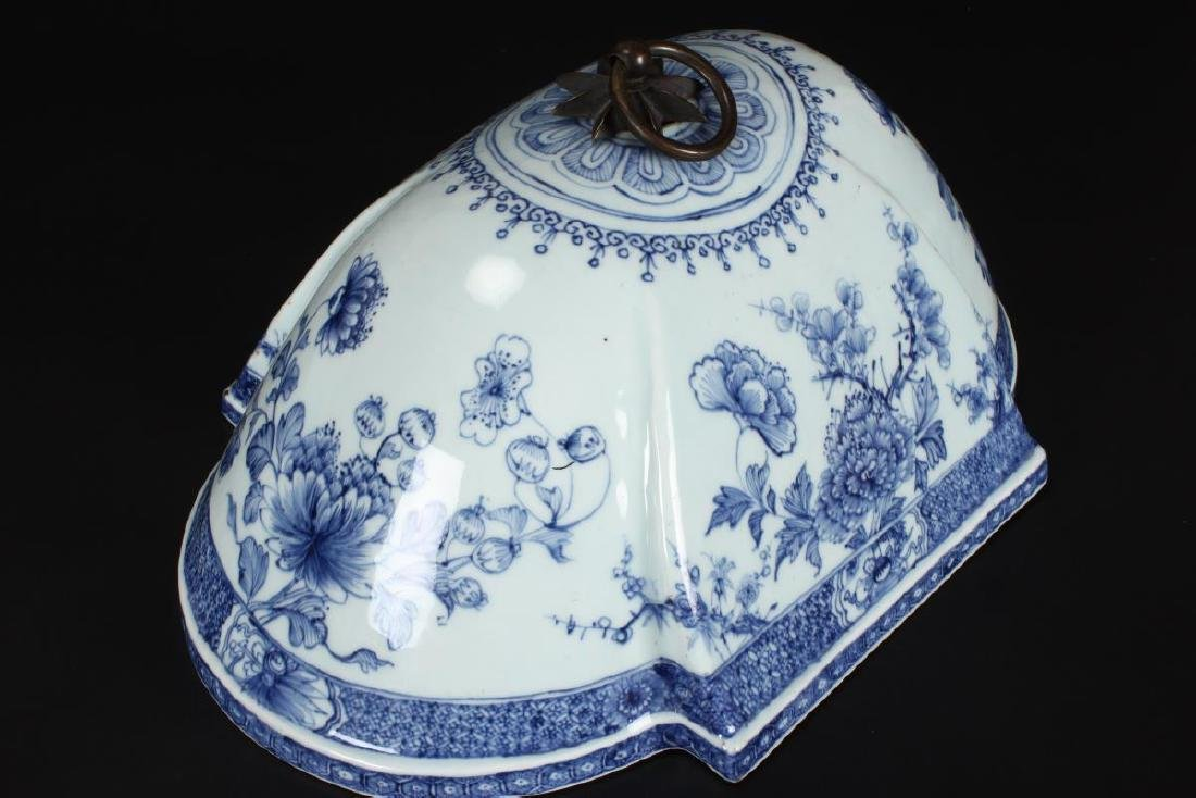 Lovely Chinese Qing Dynasty, 18th Century Blue and - 3