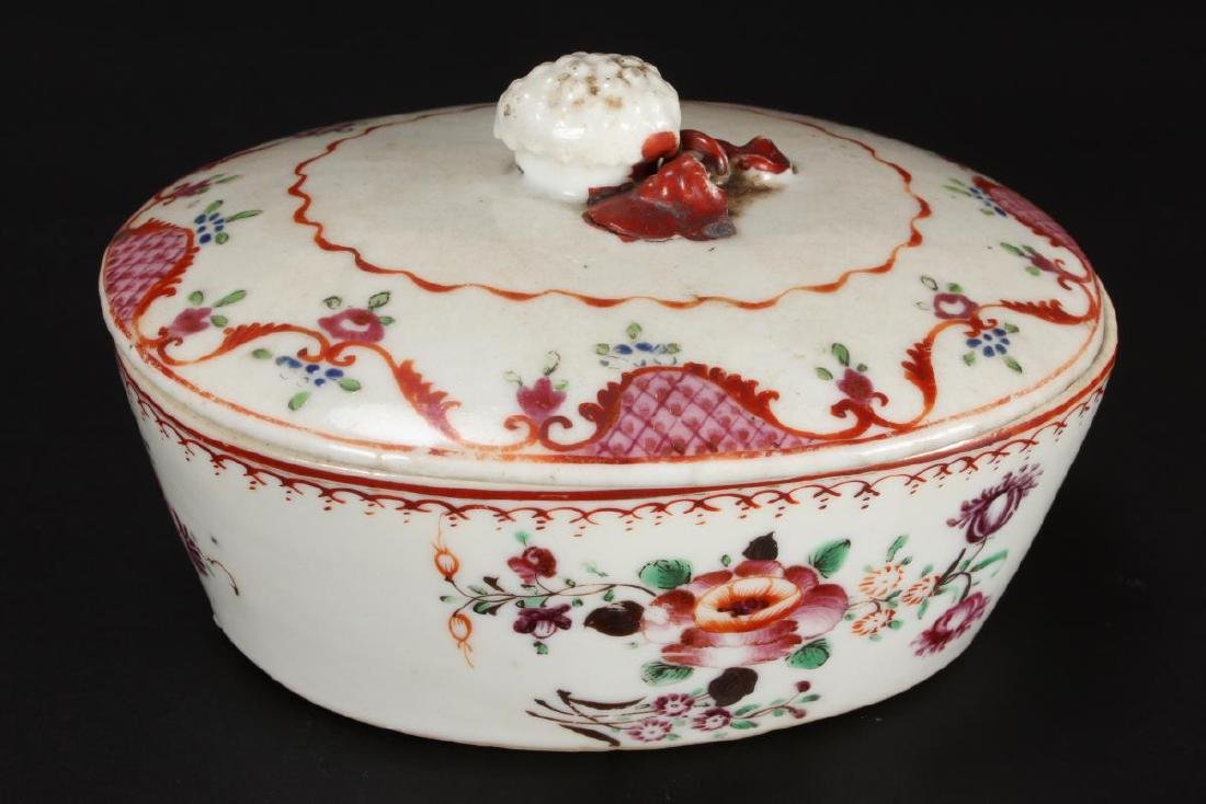 Chinese Qing Dynasty Export Dish and Cover,
