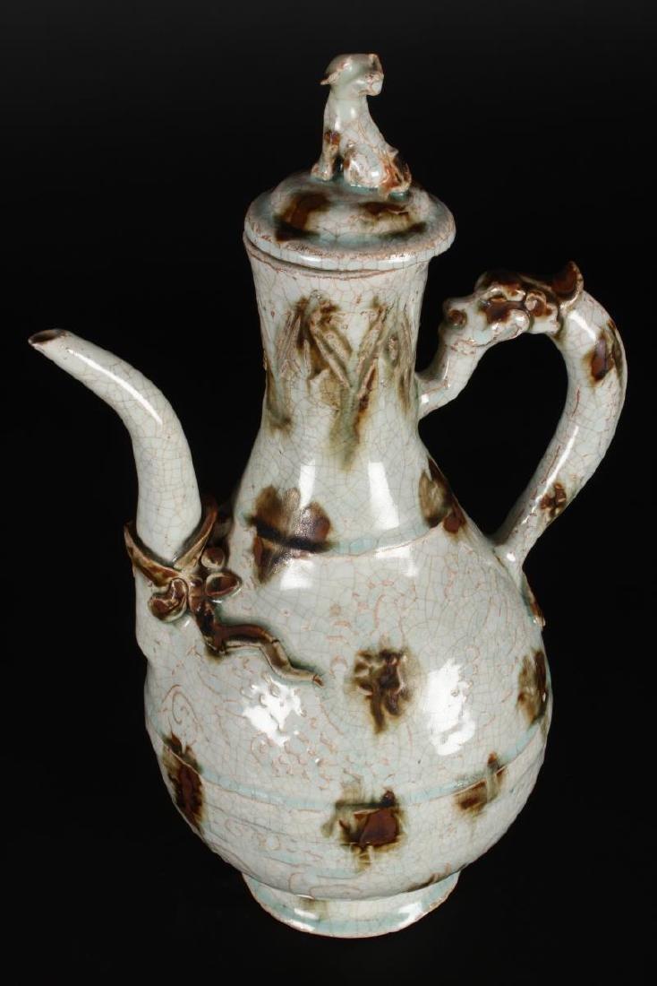 Chinese Qingbai Glaze Ewer,