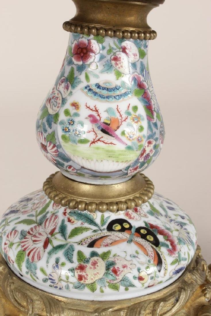 Chinese/French Porcelain and Ormolu Tazza, - 6