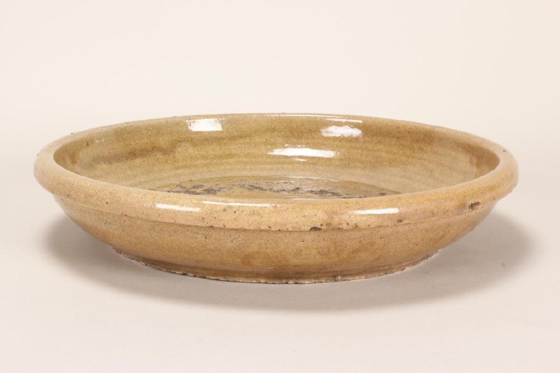 Japanese Meiji Period Celadon Stoneware Charger, - 2