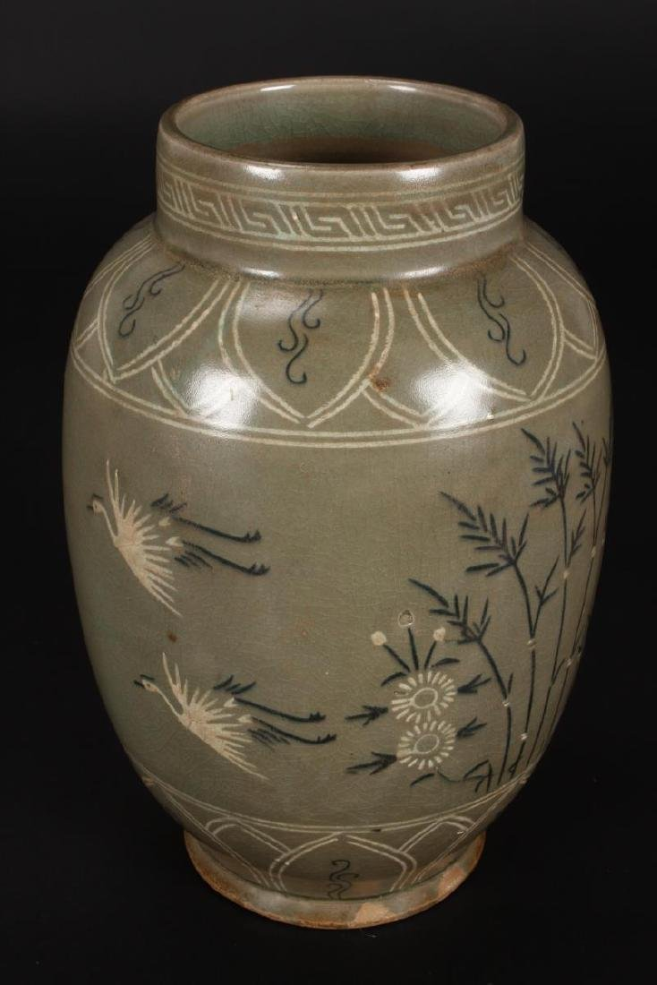 Late Goryeo Celadon Vase,