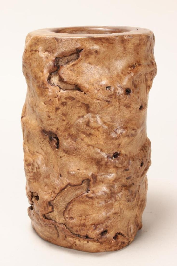 Chinese Rootwood Brush Pot,