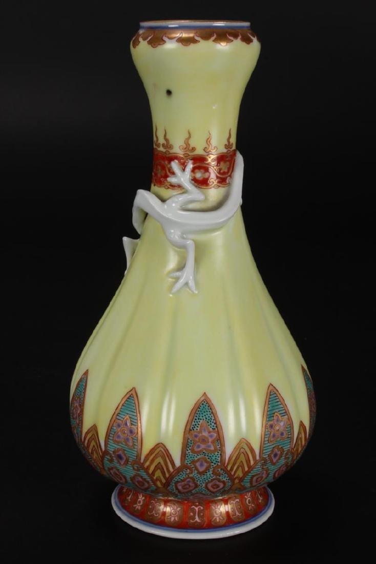 Pair of Japanese Porcelain Vases, - 7