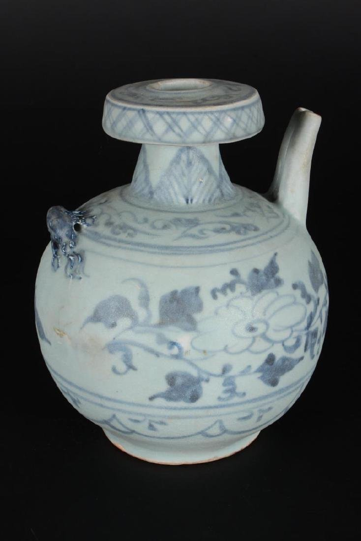 Chinese Blue and White Ewer,