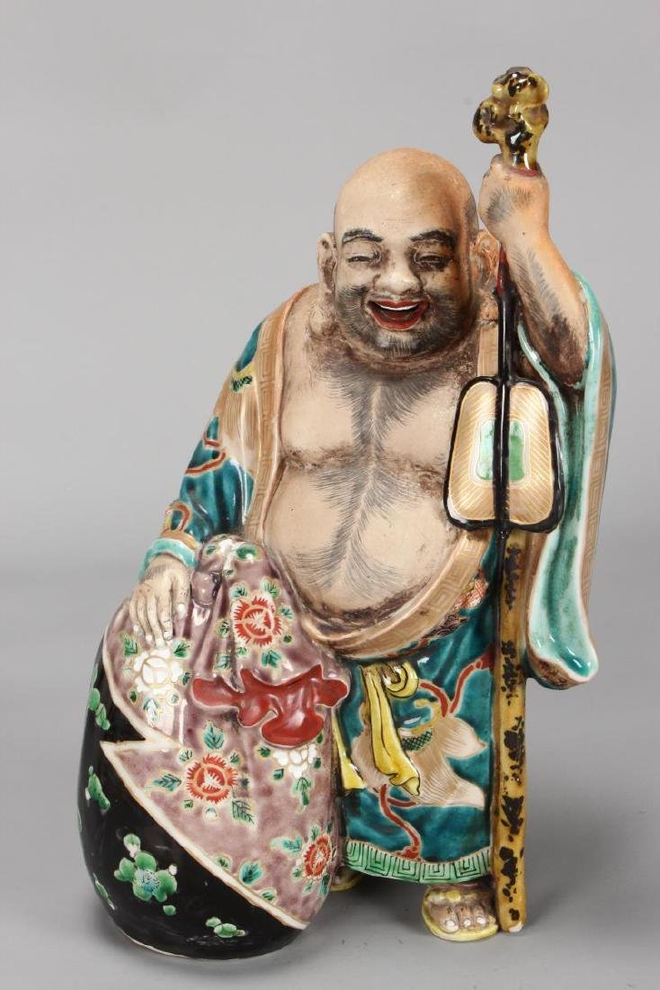 Wonderful Kutani Figure of Immortal,