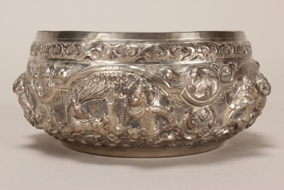 Thai Silver Bowl, - 2