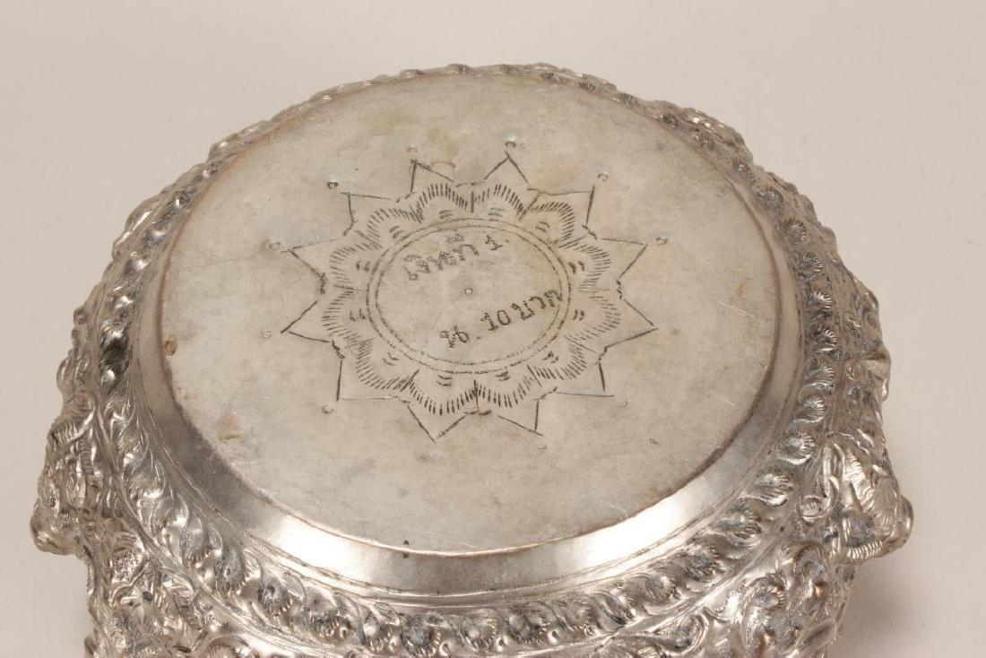 Thai Silver Bowl, - 5