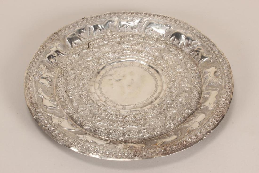 Indian Silver Charger,