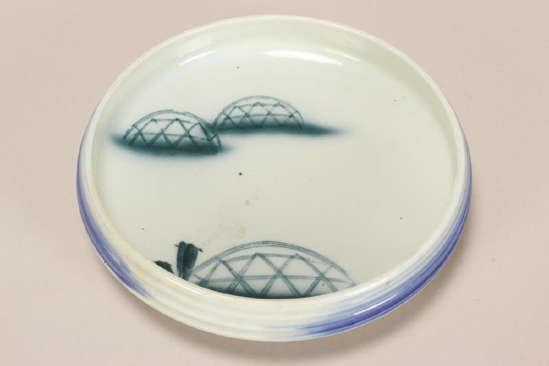 Japanese Stoneware Plate,