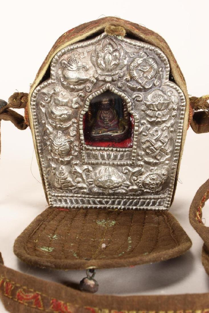 Late 19th Century Tibetan Gau,