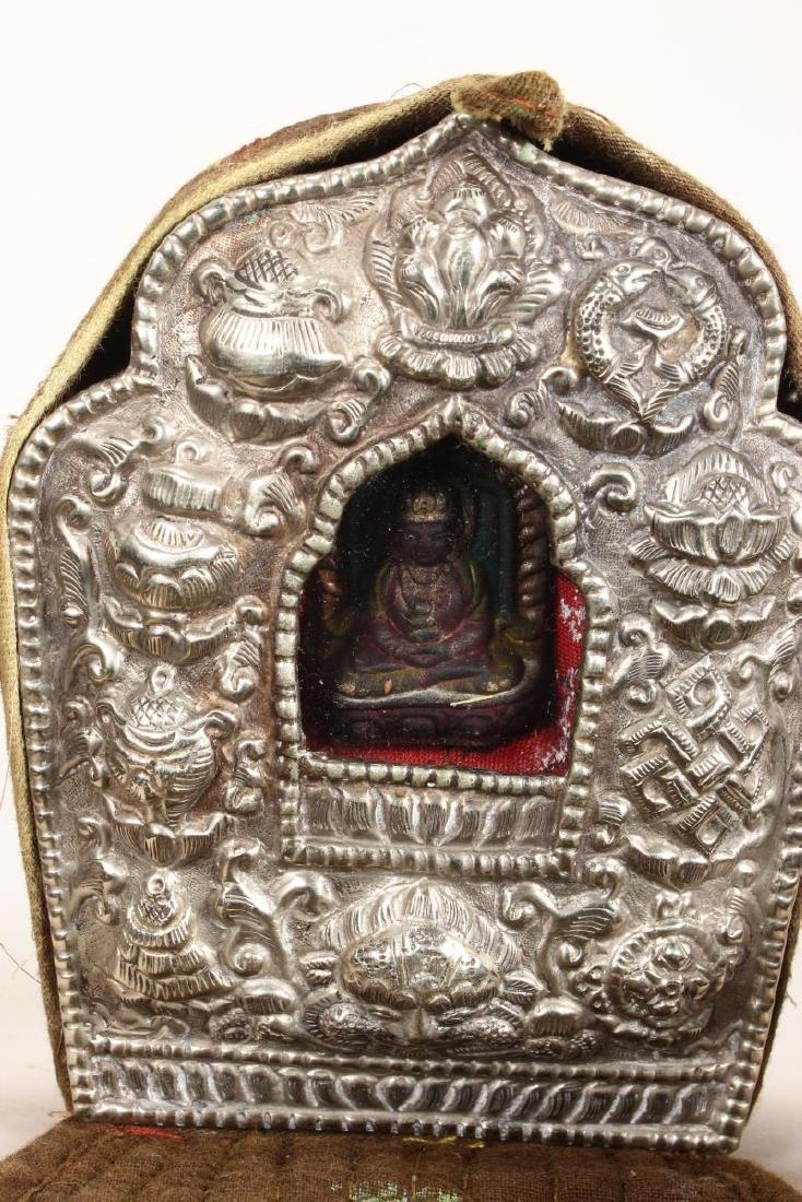 Late 19th Century Tibetan Gau, - 2
