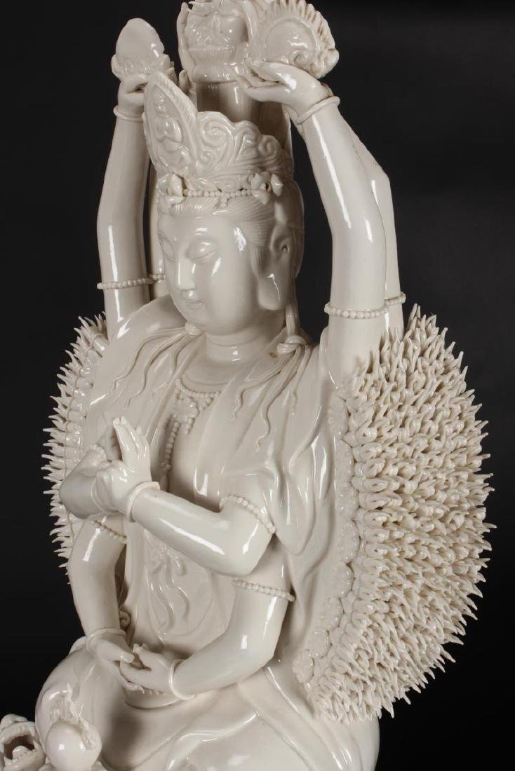 Very Large and Fine Chinese Blanc de Chine - 9