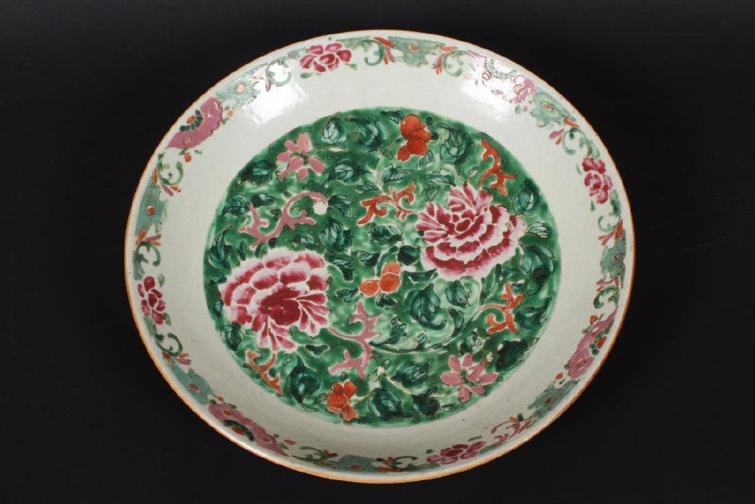 Chinese Qing Dynasty Porcelain Famille Vert