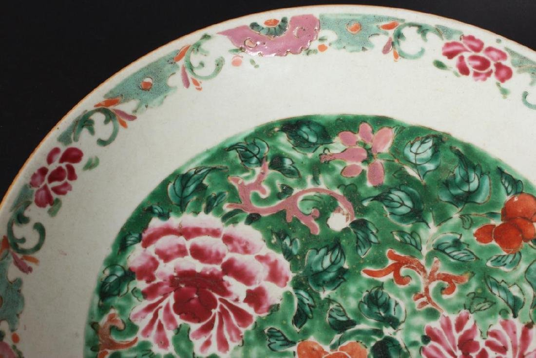 Chinese Qing Dynasty Porcelain Famille Vert - 3
