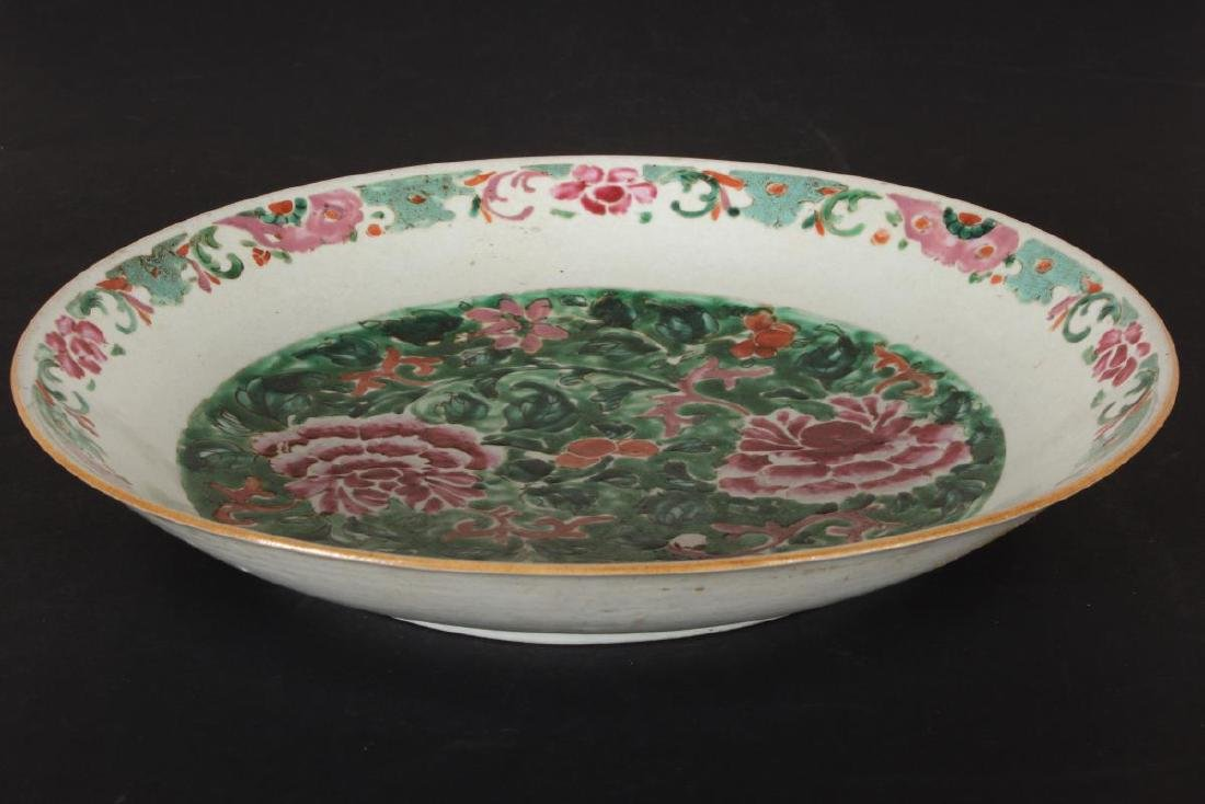 Chinese Qing Dynasty Porcelain Famille Vert - 4