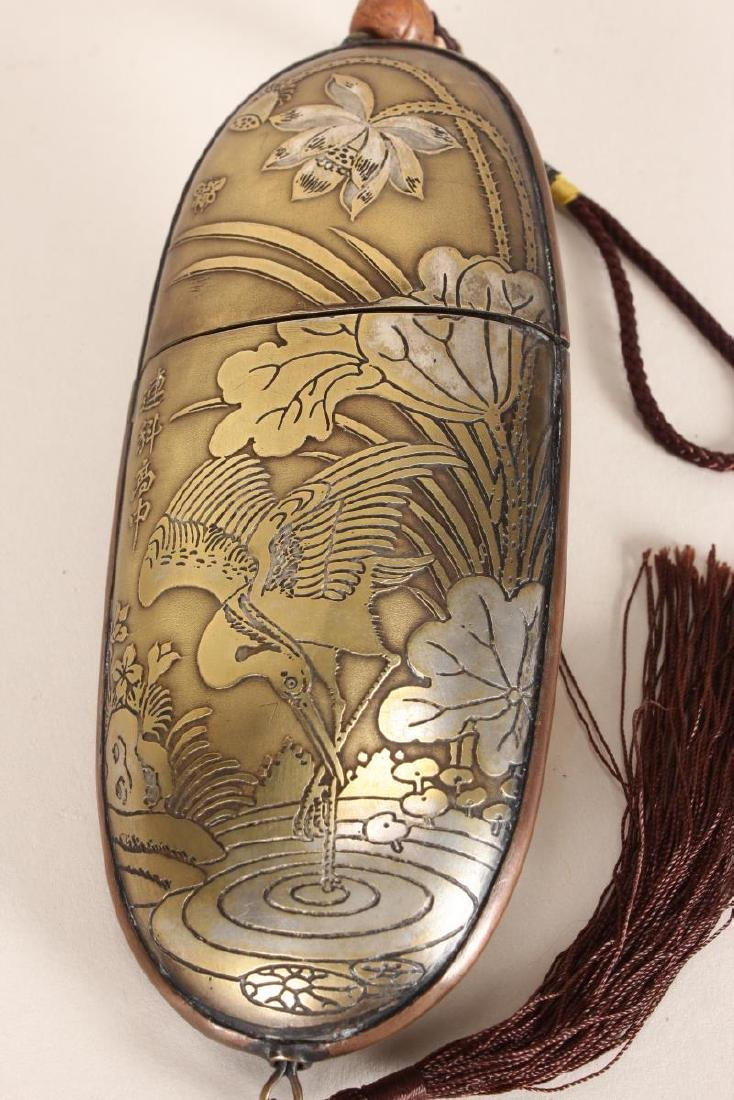 Lovely Japanese Spectacles Case, - 4