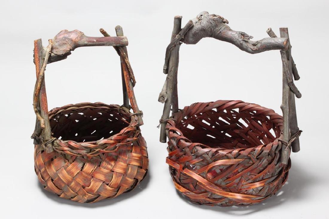 Two Japanese Ikebana Vases,