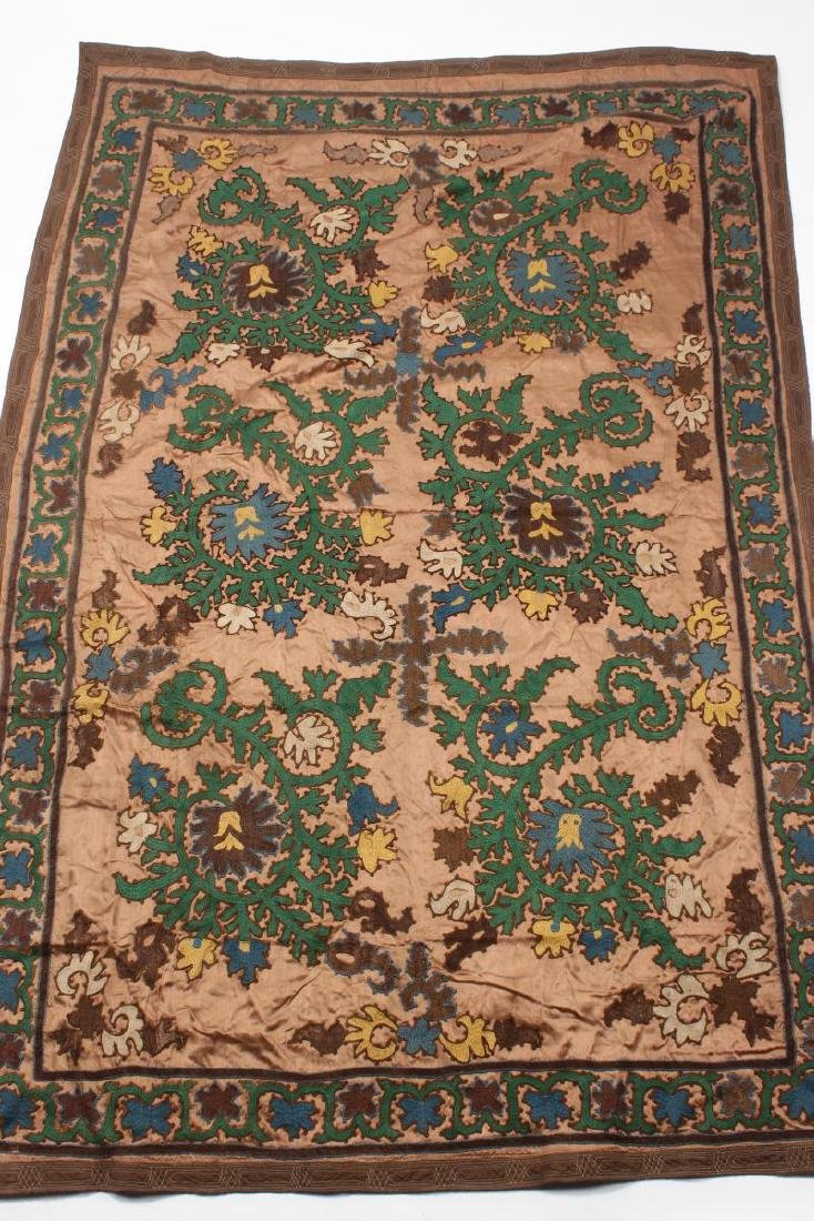Ozbekistan Hand Embroidered Table Cloth,
