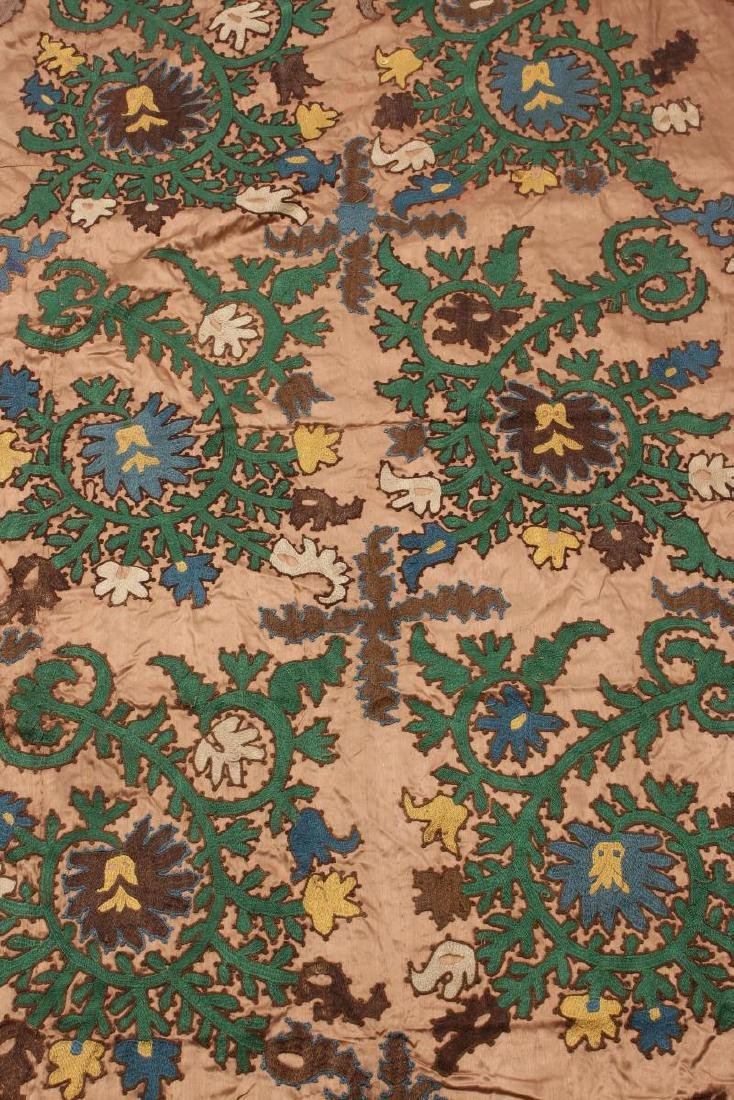 Ozbekistan Hand Embroidered Table Cloth, - 2
