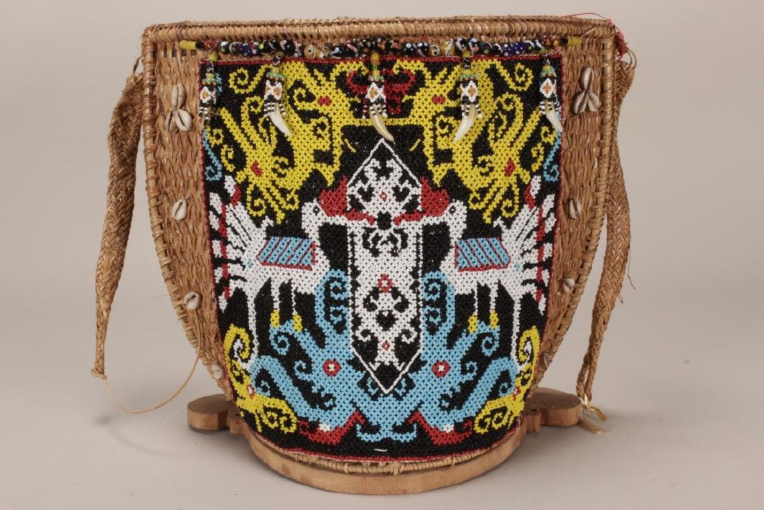Traditional Dayak Baby Carrier,
