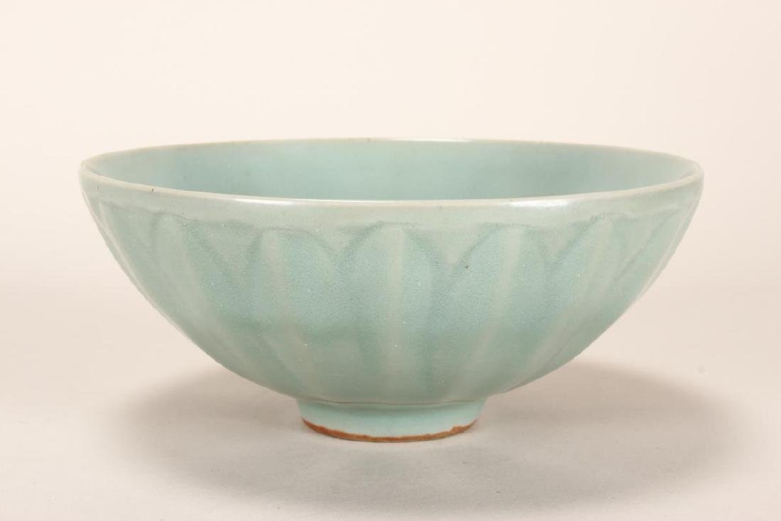 Chinese Song Dynasty Longquan Glaze Lotus Bowl,