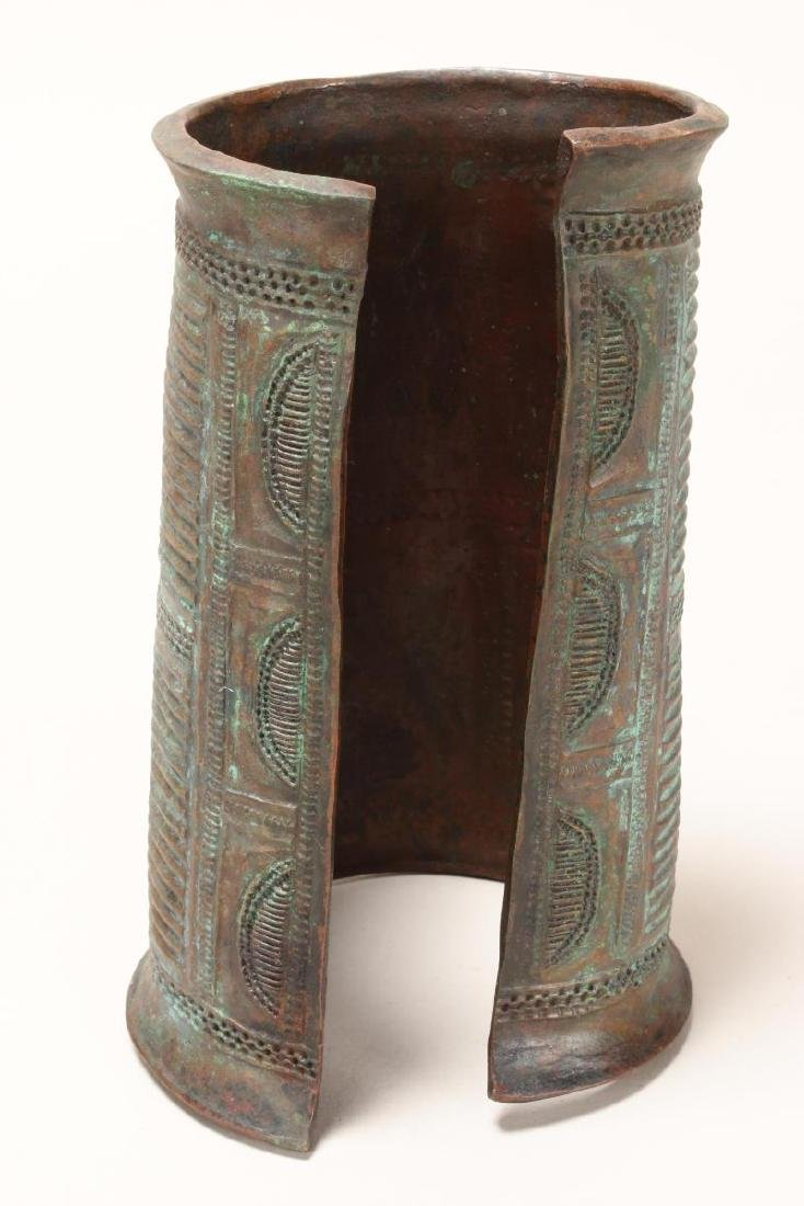 Good Nigerian Copper Armband, - 2