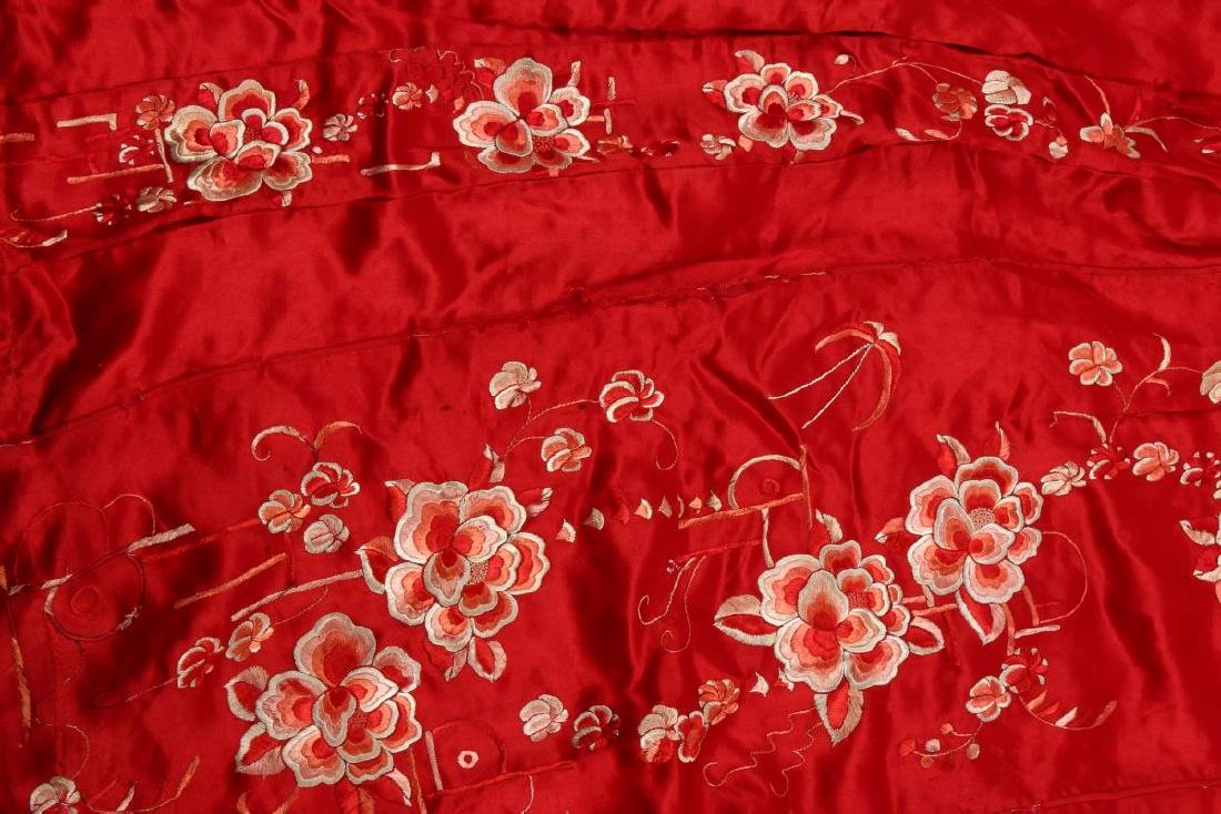Chinese Late Qing/Early Republic Han Silk Summer - 2