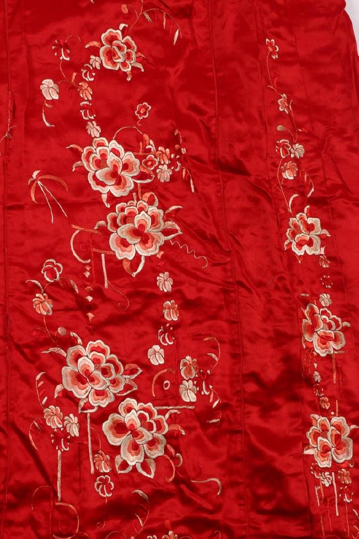 Chinese Late Qing/Early Republic Han Silk Summer - 5