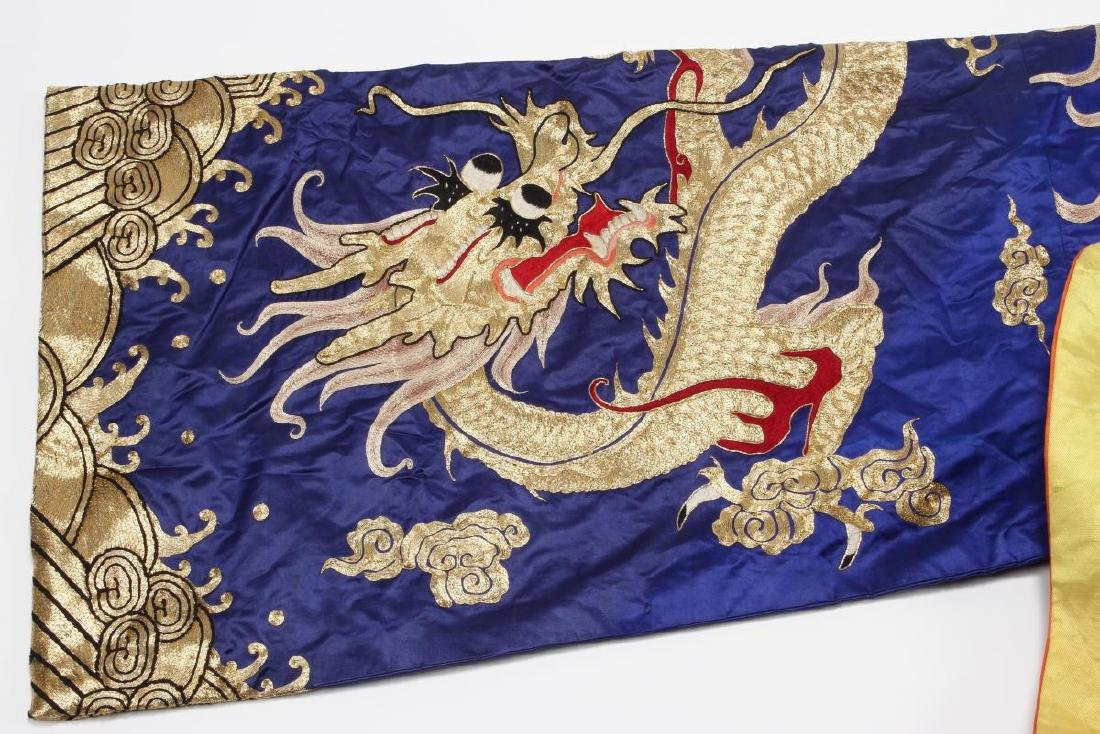 Large Chinese Opera Emperor Costume, - 10