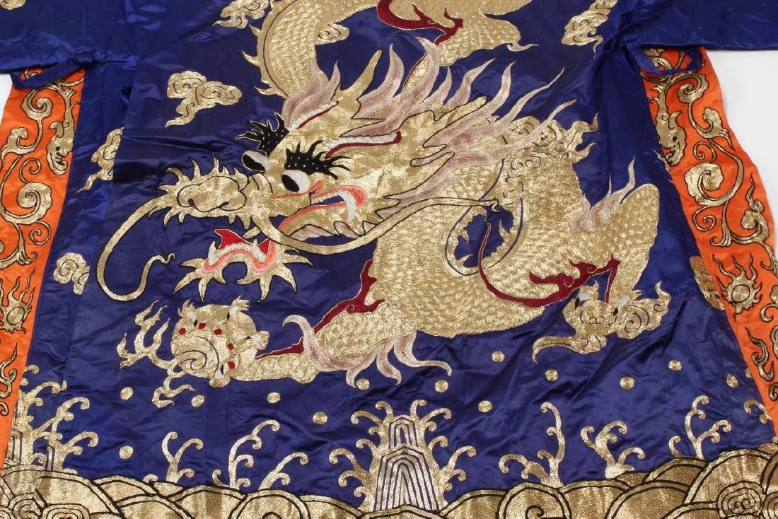 Large Chinese Opera Emperor Costume, - 3