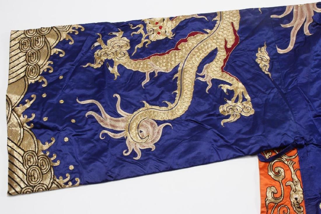 Large Chinese Opera Emperor Costume, - 4