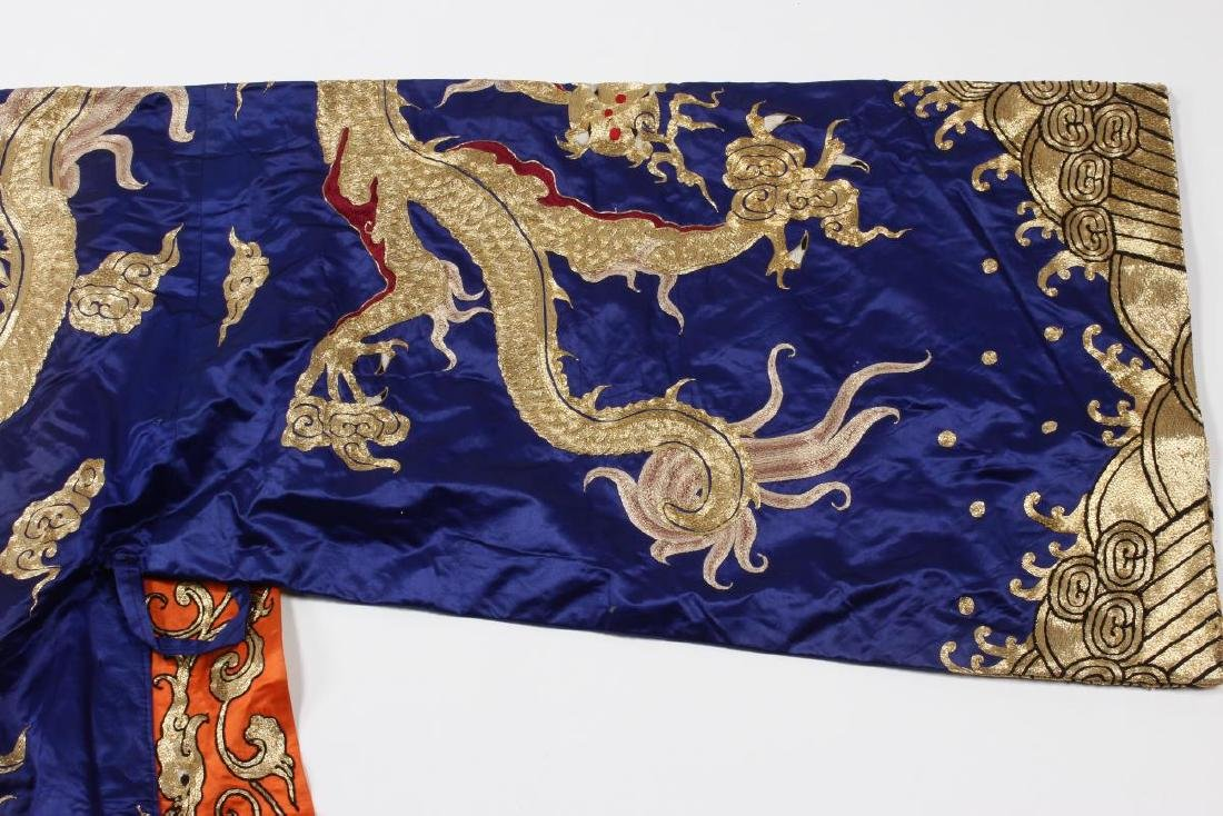 Large Chinese Opera Emperor Costume, - 5