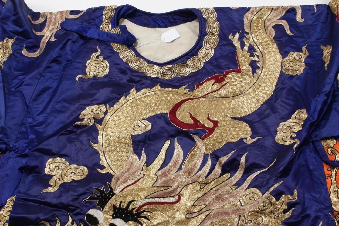 Large Chinese Opera Emperor Costume, - 6