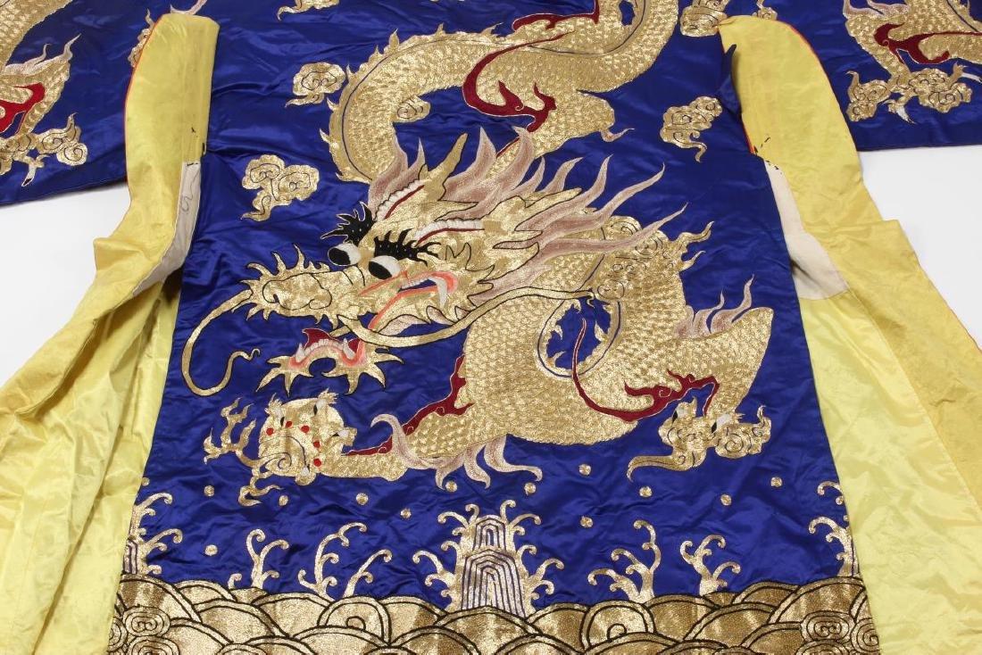 Large Chinese Opera Emperor Costume, - 9