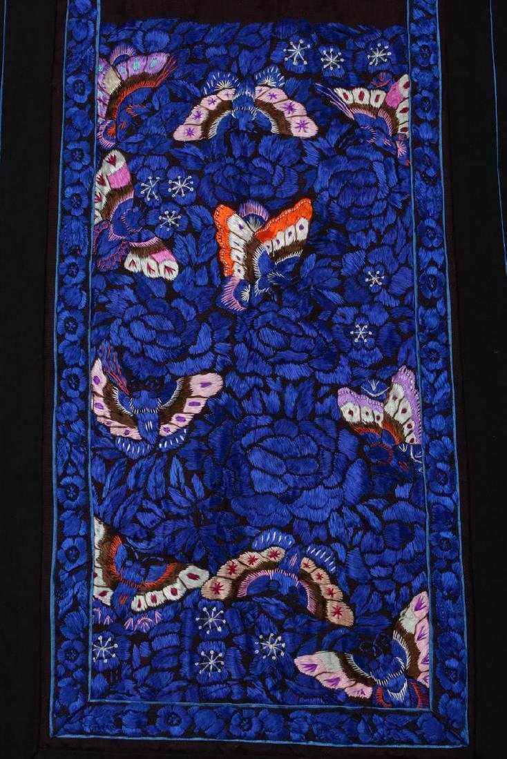 Chinese Early Republic Han Satin Skirt, - 3