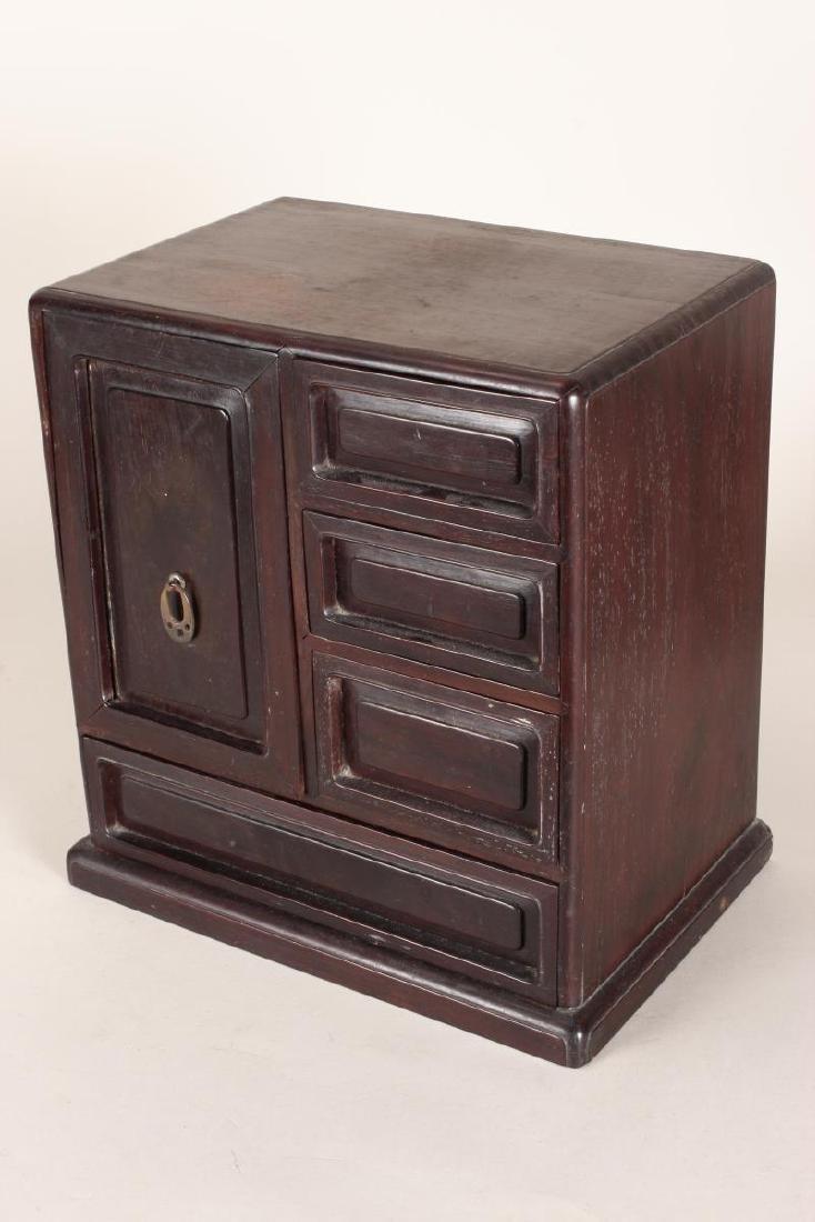 Chinese Hardwood Table Cabinet,