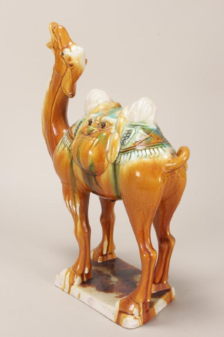 Chinese Tang Style Camel, - 3