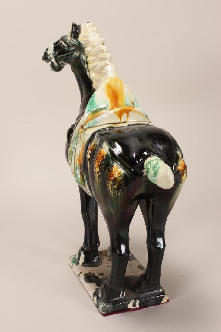 Chinese Tang Style Horse, - 4