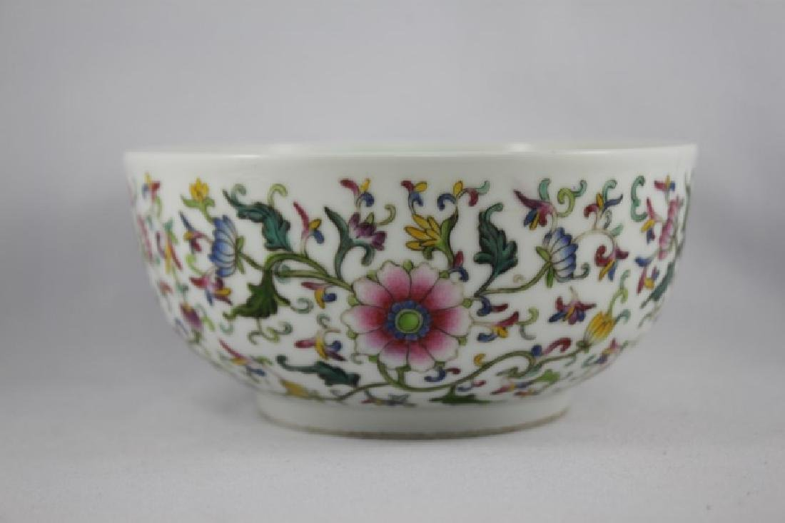 Chinese Porcelain Bowl, - 2