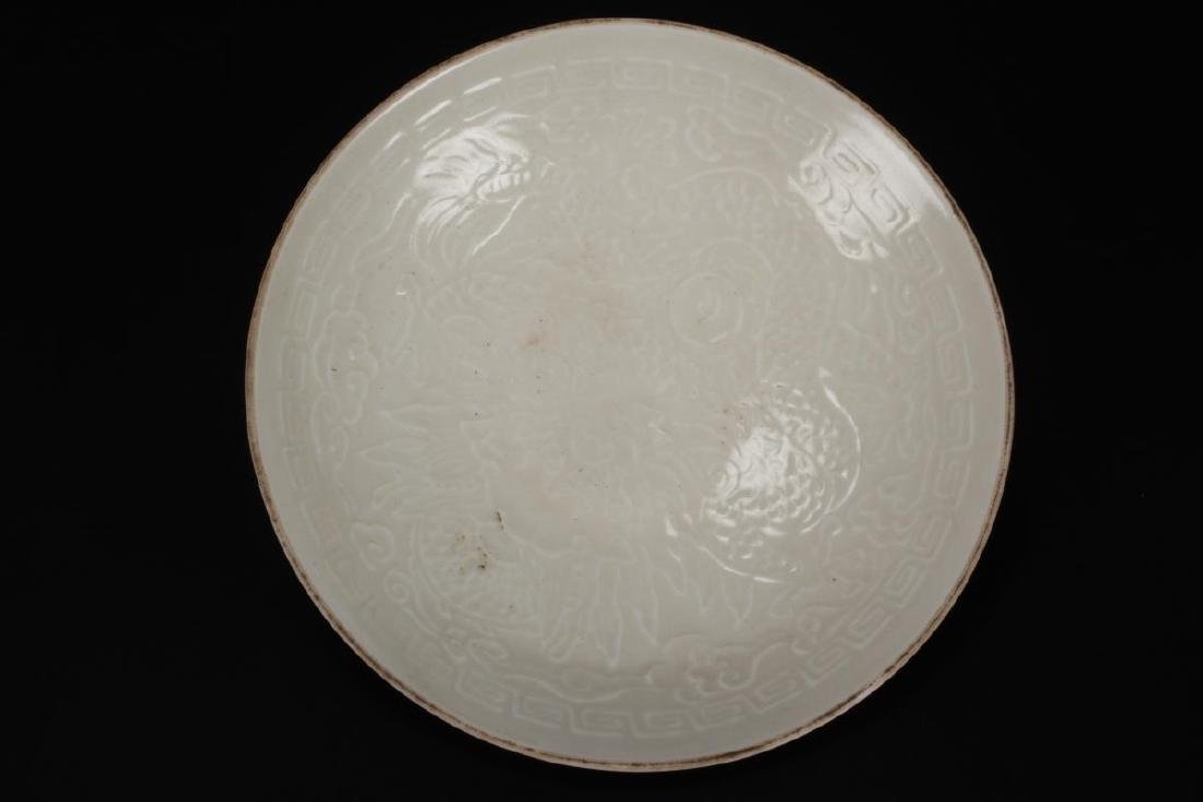Chinese Qingbai Porcelain Dish, - 3