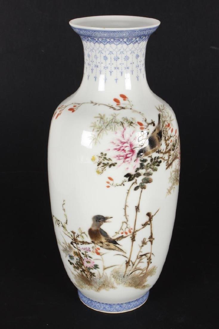 Pair of Chinese Porcelain Vases, - 2