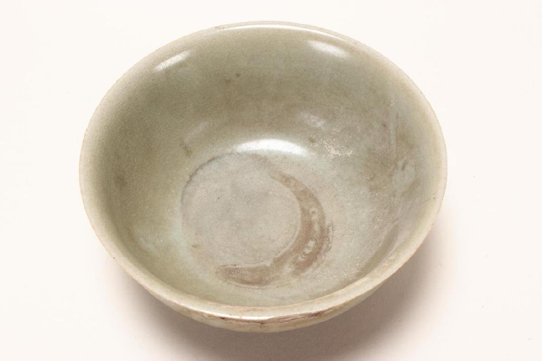 Chinese Celadon Bowl, - 3