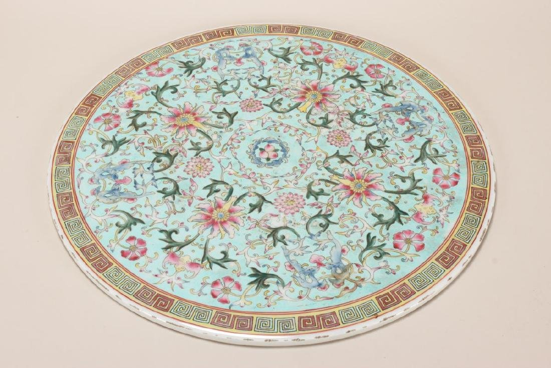 Chinese Porcelain Plaque,