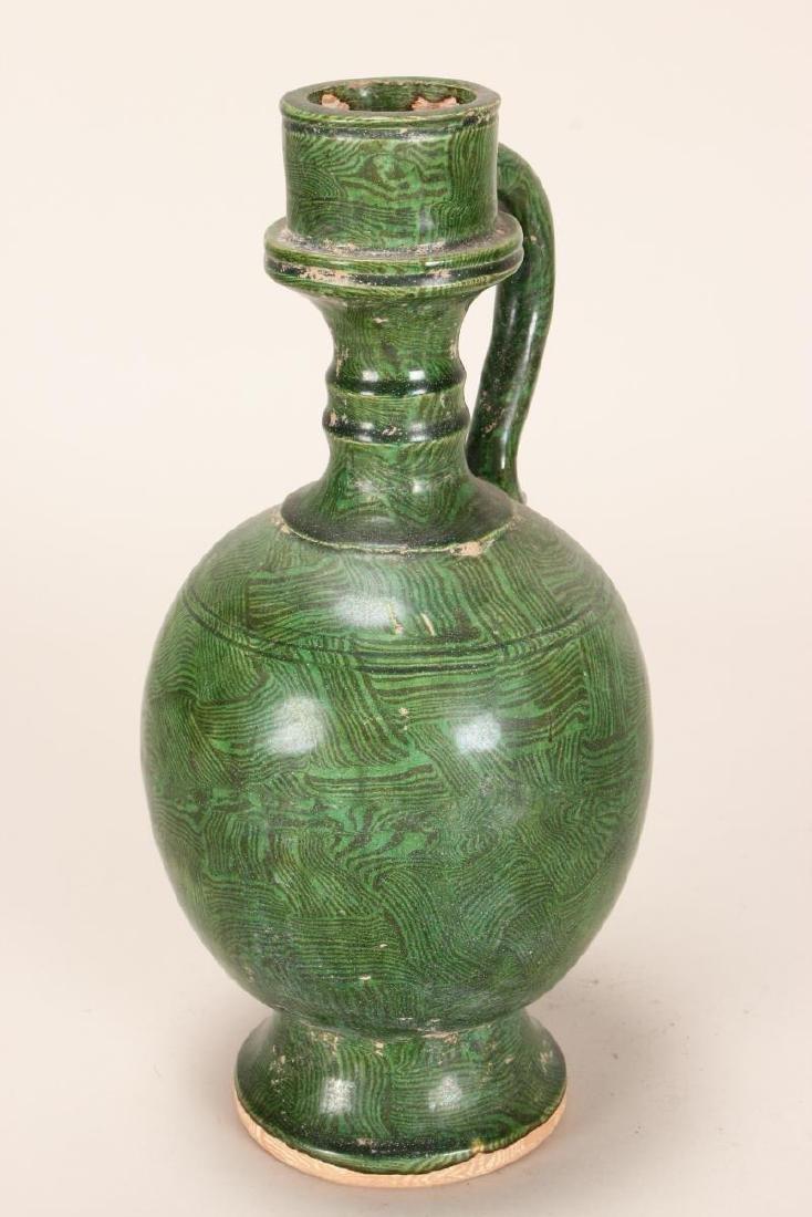 Chinese Pottery Ewer, - 3